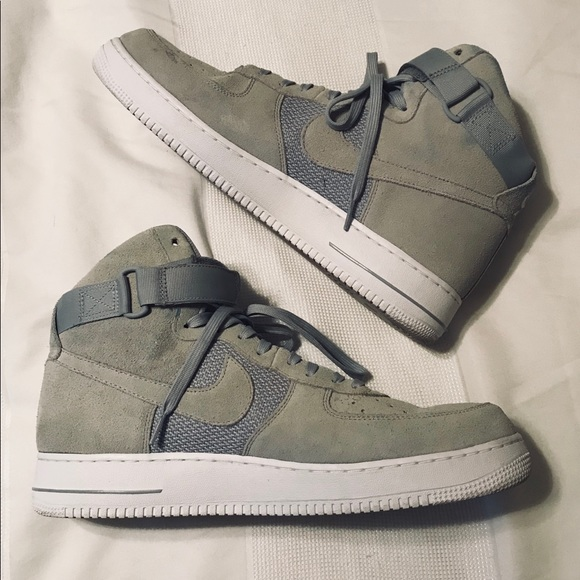 Nike Shoes Mens Air Force 1 Mid Suede Size 14 Poshmark